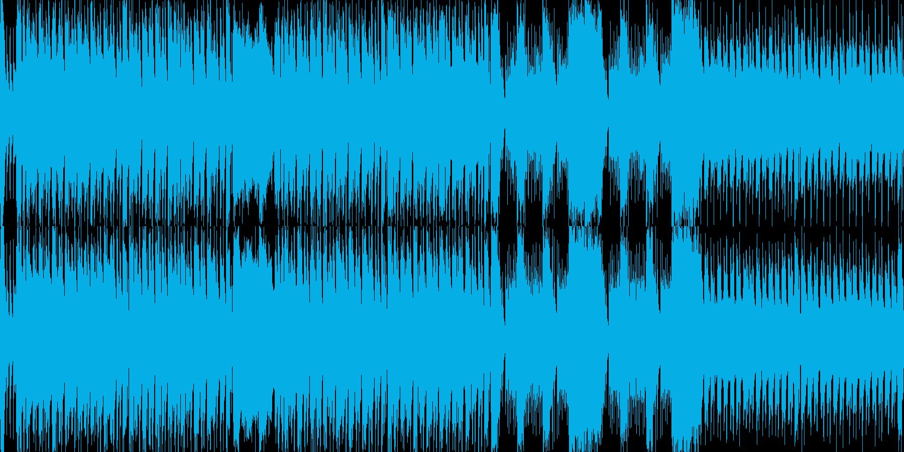 ドタバタ大慌て!かわいいアコースティックの再生済みの波形