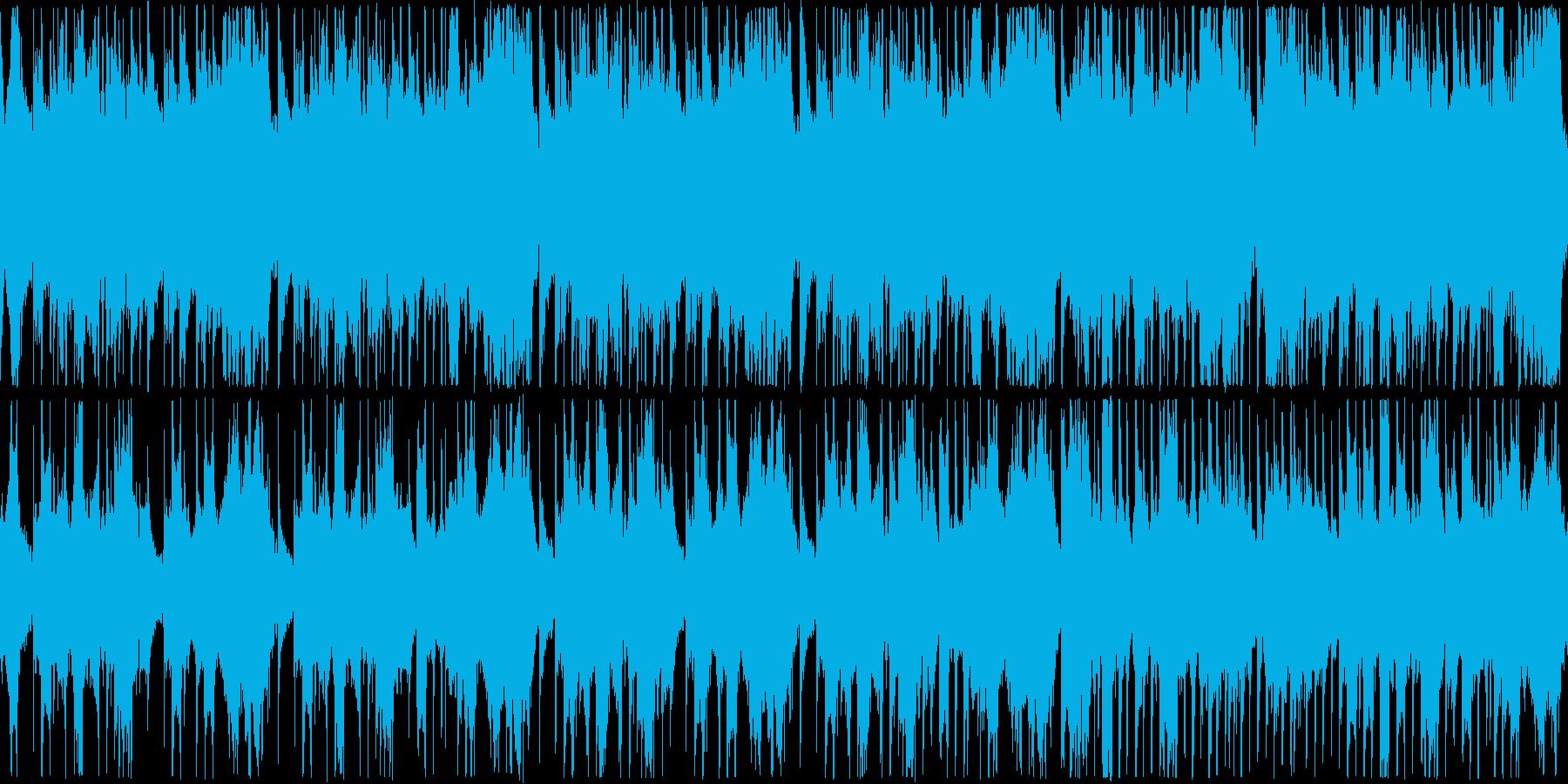 中国風の旋律の、のどかなイメージのする…の再生済みの波形