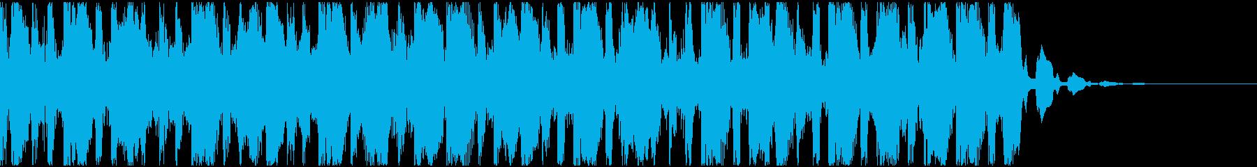 【EDM】トランス、ショート3の再生済みの波形