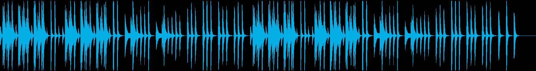 動物/ピアノ/まったりした日常BGMの再生済みの波形