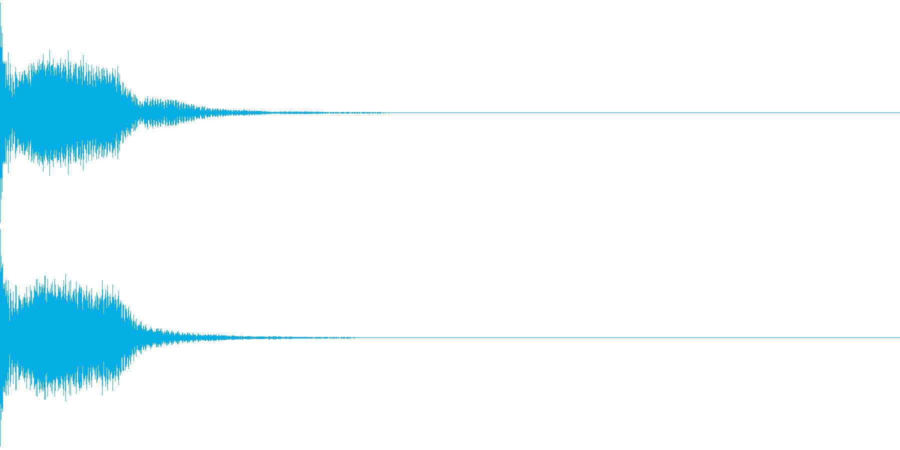 光線銃/ビーム「ビュン」「ビビ」08の再生済みの波形