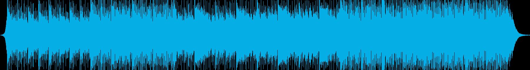 アジアンスタイルの歌の再生済みの波形