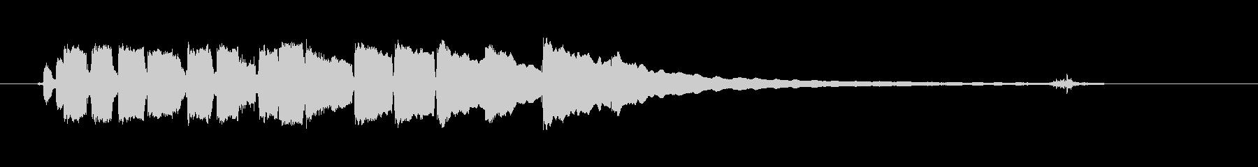 ブルースギター-ショートソロ5の未再生の波形