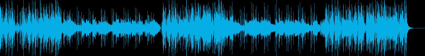 PopでRandB なグルーヴ曲の再生済みの波形