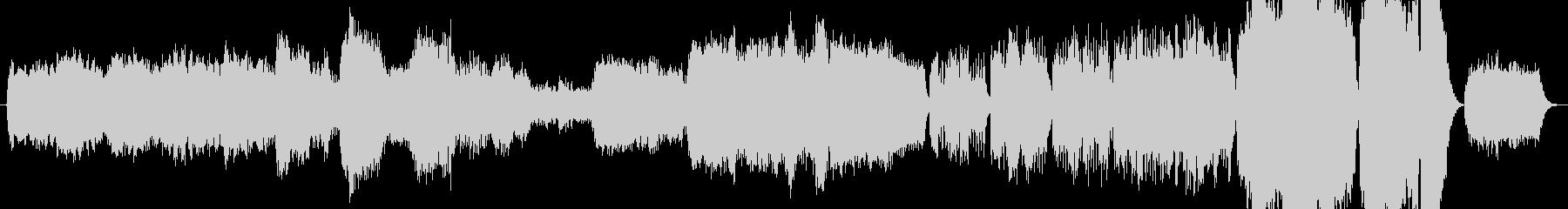 オリジナルのオケアレンジ曲inAliceの未再生の波形