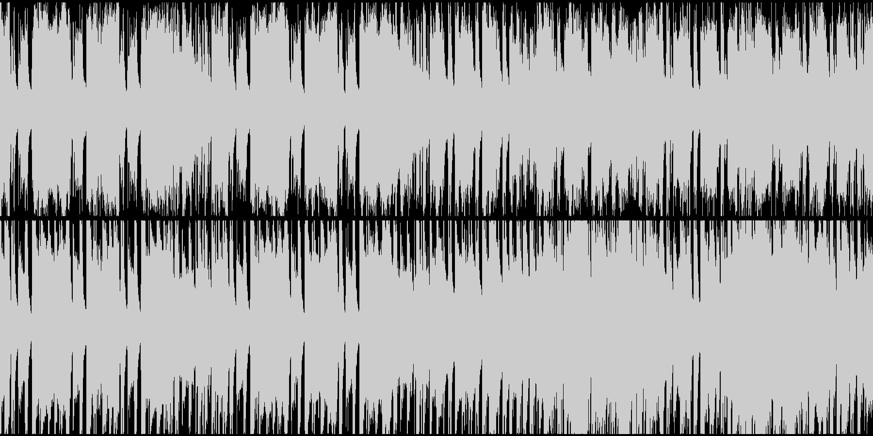 和風動画向け琴フュージョンループ2の未再生の波形