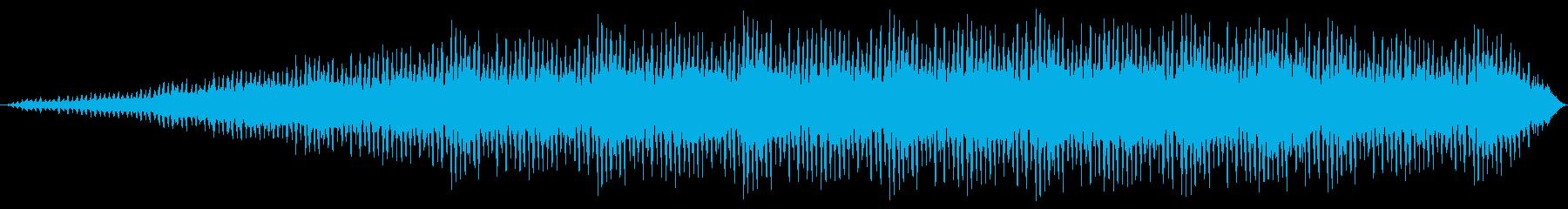 シーケンス Wub Wub 01の再生済みの波形
