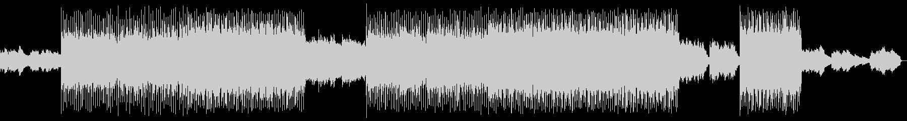 幻想的な音空間が特徴のエキゾチックな曲の未再生の波形