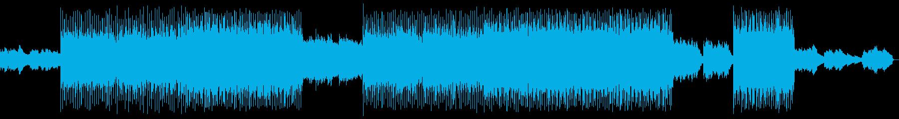 幻想的な音空間が特徴のエキゾチックな曲の再生済みの波形
