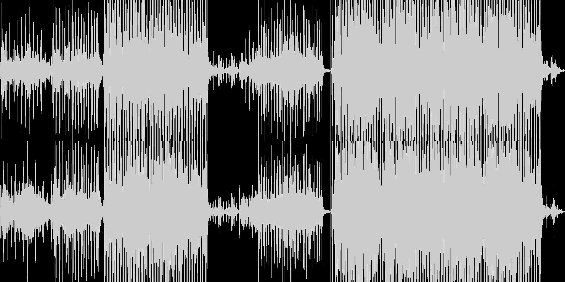 優雅だが影の有るアシッドジャズ■ループ可の未再生の波形
