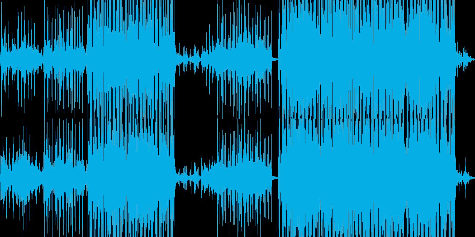 優雅だが影の有るアシッドジャズ■ループ可の再生済みの波形