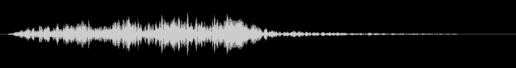 「和太鼓の連打」「ドラムロール」の未再生の波形