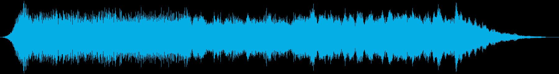 【ダークアンビエント】宇宙空間の雰囲気の再生済みの波形