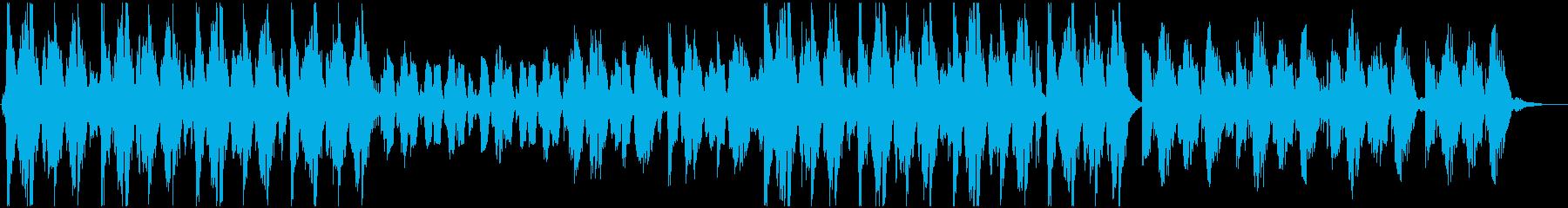 動物、コメディ等に。おとぼけマーチBGMの再生済みの波形