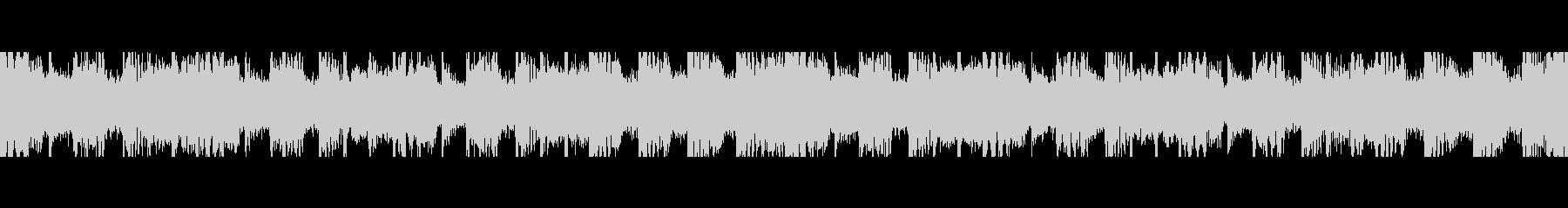 インド感満載曲のループの未再生の波形