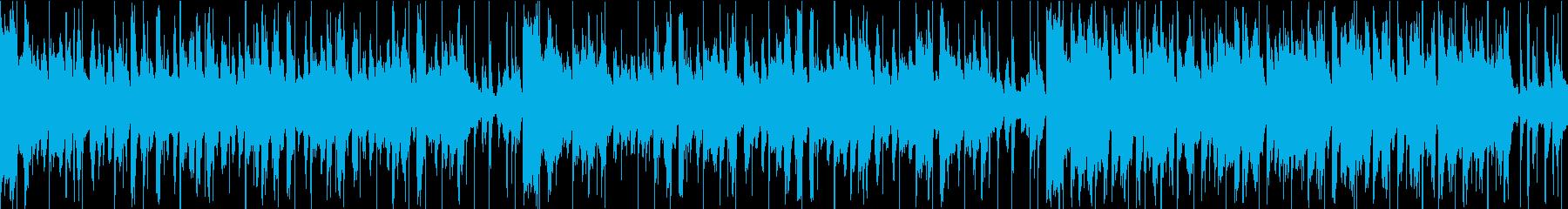 天気予報BGMフォーマル就活・式場の再生済みの波形