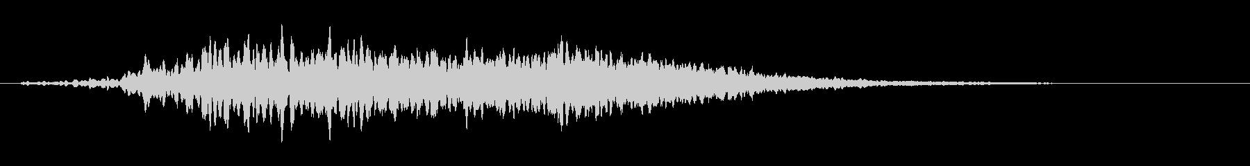 ME心理コード1(浮遊感、アンビエント)の未再生の波形