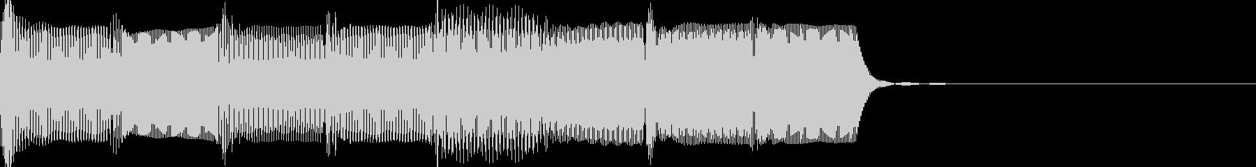 ピロピロの未再生の波形