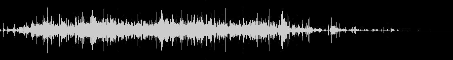 ジャンクパイルのウッドロックソルトの未再生の波形