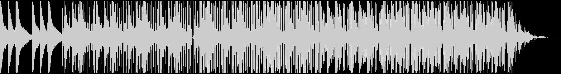 lofiヒップホップ:スクラッチFX無しの未再生の波形
