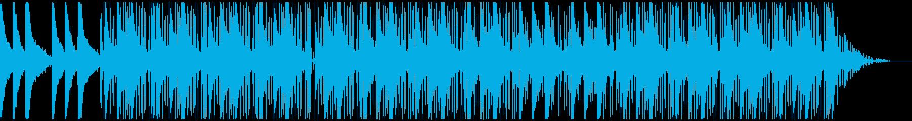 lofiヒップホップ:スクラッチFX無しの再生済みの波形