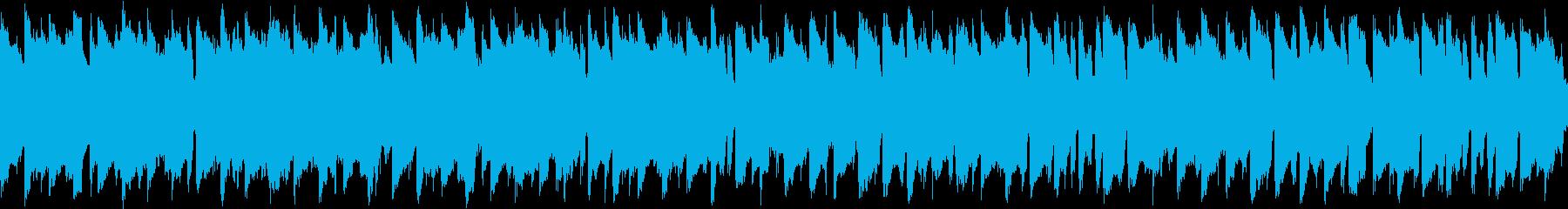 マップ画面・農園村ループ・ピアノ笛太鼓の再生済みの波形