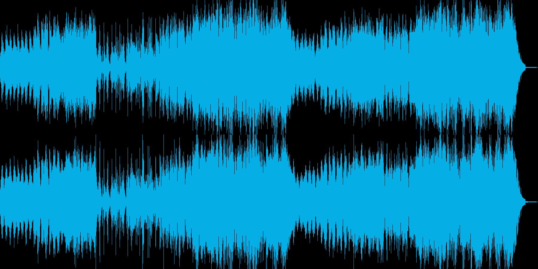 切ないピアノとハープが印象的なワルツの再生済みの波形