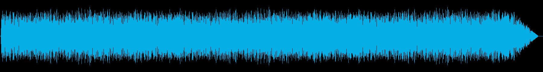 地震02の再生済みの波形