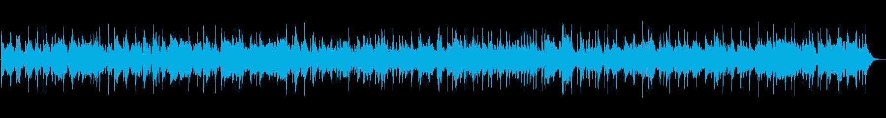 異国情緒漂うアコーディオンのワルツの再生済みの波形