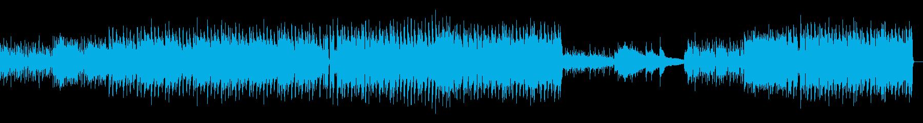 爽やかで希望感あるポップス(ギター抜き)の再生済みの波形