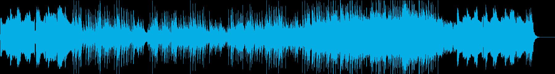 和を感じる儚い旋律が特徴的な尺八と琴の曲の再生済みの波形