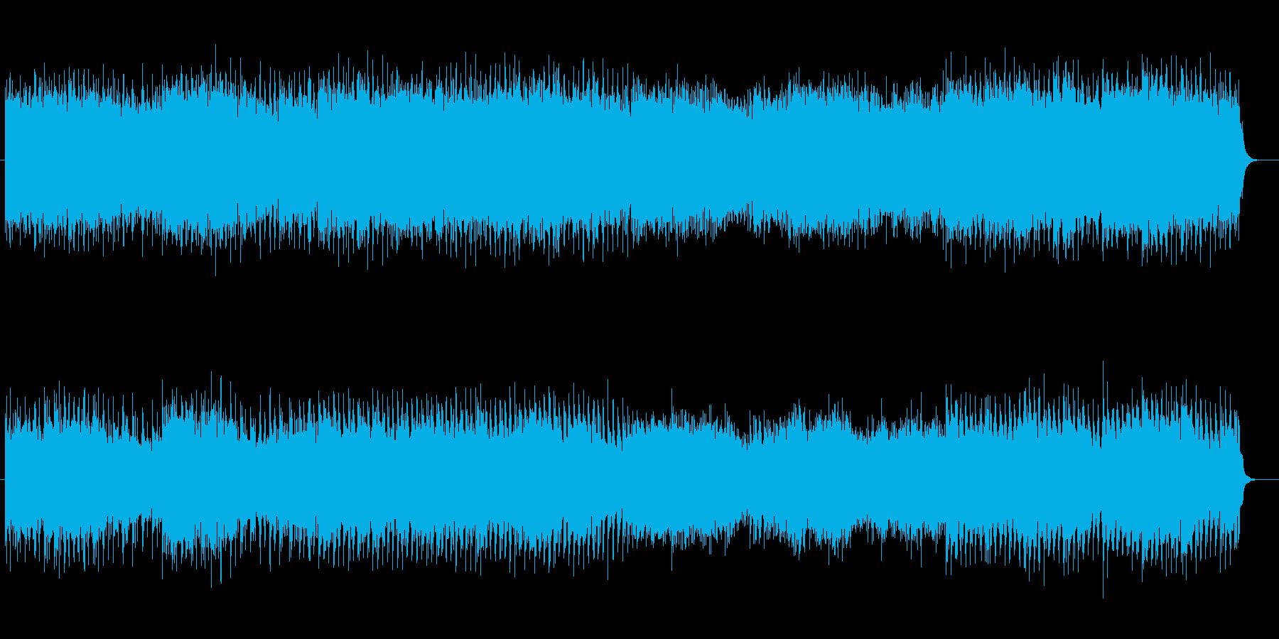 ピコピコしたシンセサイザーミュージックの再生済みの波形