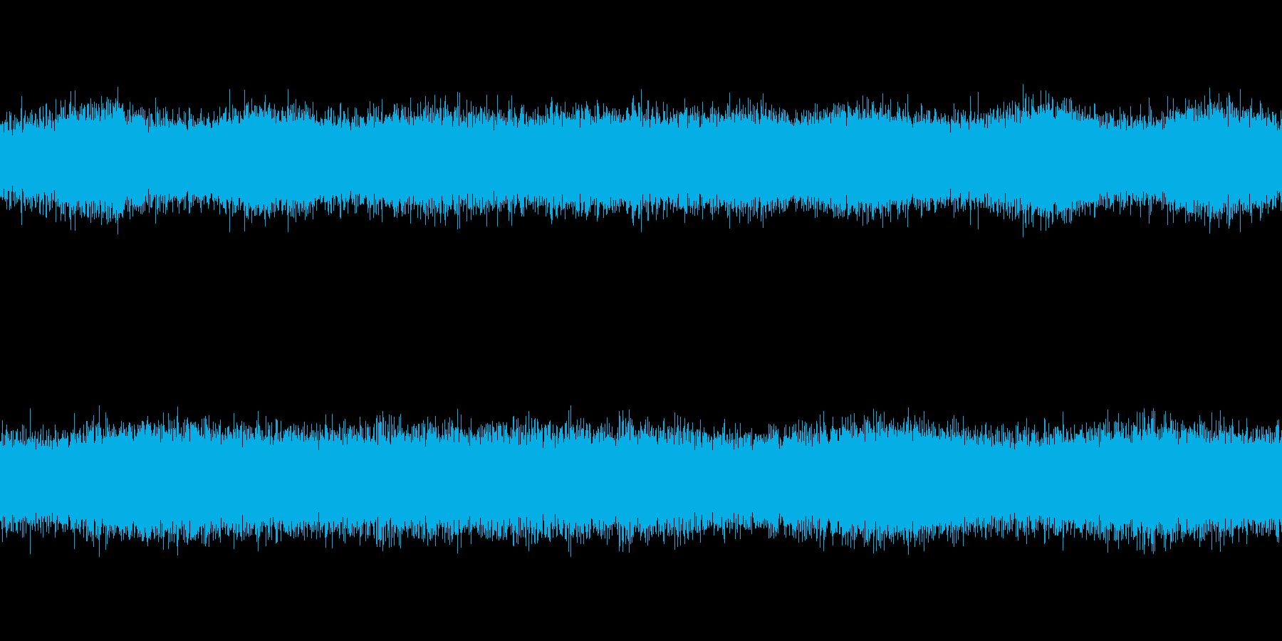 [風音2] 強風・吹雪・暴風(ループ)の再生済みの波形