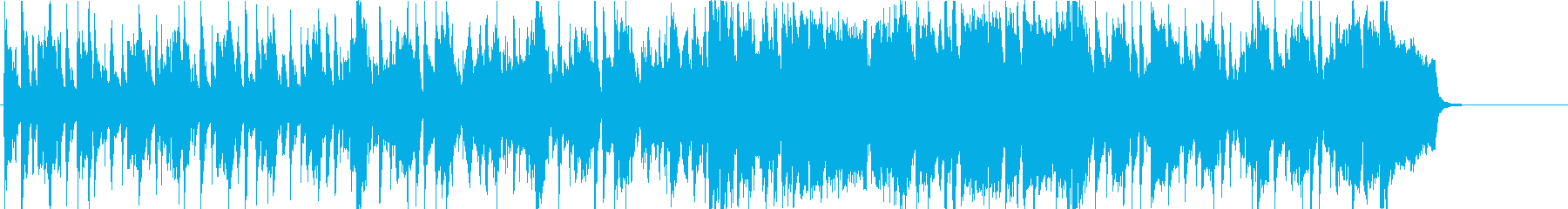 オープニング テーマ 軽快 はつらつの再生済みの波形