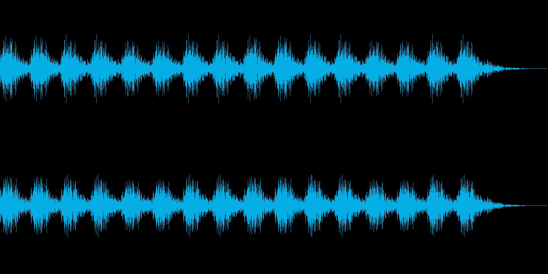 どんどん(巨人、速歩き)A01の再生済みの波形