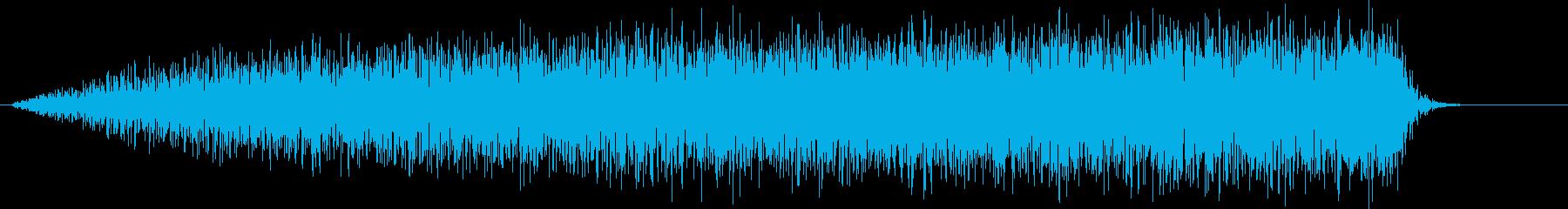 SE 高音ノイズ ギューンDWONの再生済みの波形