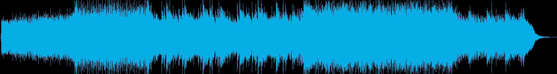 japanese hacksの再生済みの波形