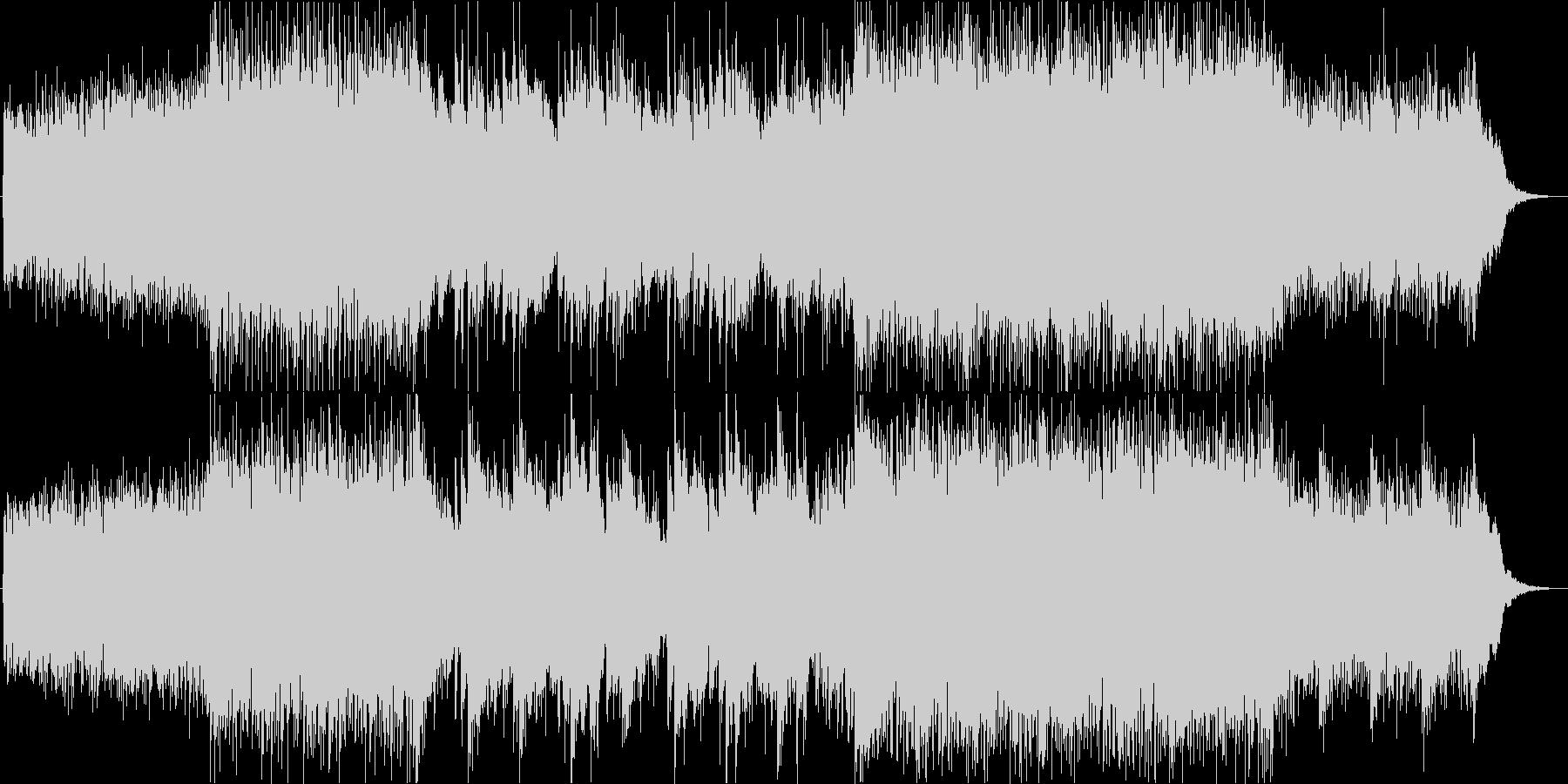 三味線の生演奏!壮大な和風エレクトロニカの未再生の波形