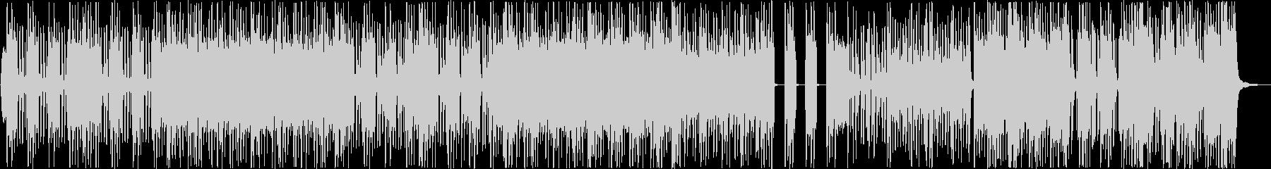 ミクスチャーロック系インストゥルメンタルの未再生の波形