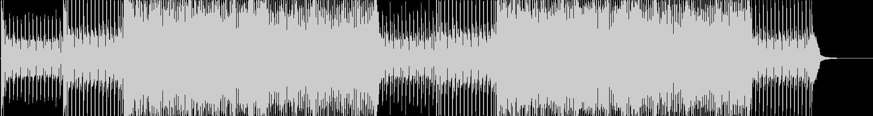 CMにぴったりの明るいロックBGM2の未再生の波形