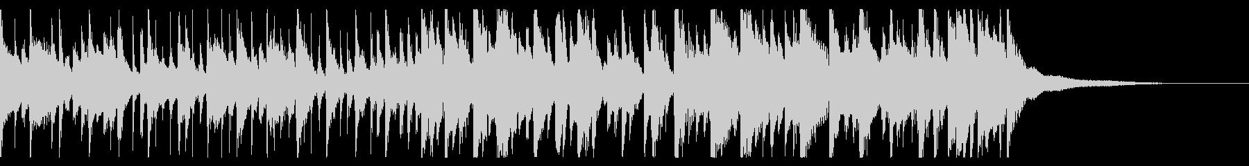オシャレな雰囲気のジャズサンバの未再生の波形