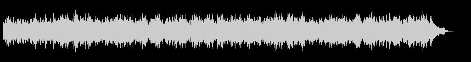 60秒動画広告、宣伝映像、感動的なピアノの未再生の波形
