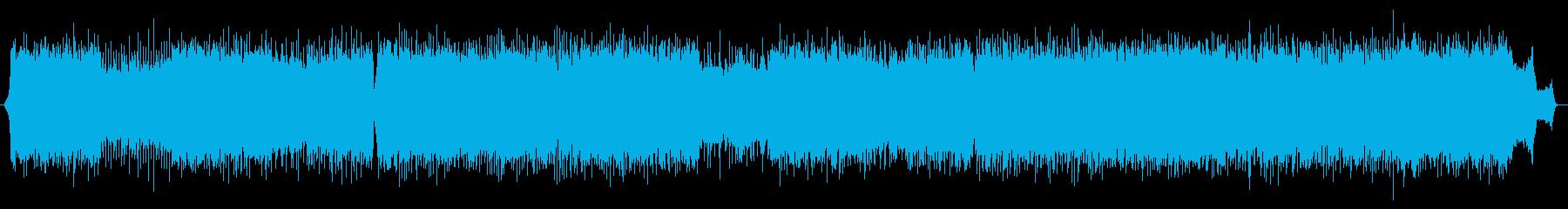 アップテンポで明るいアニメ風ポップスの再生済みの波形