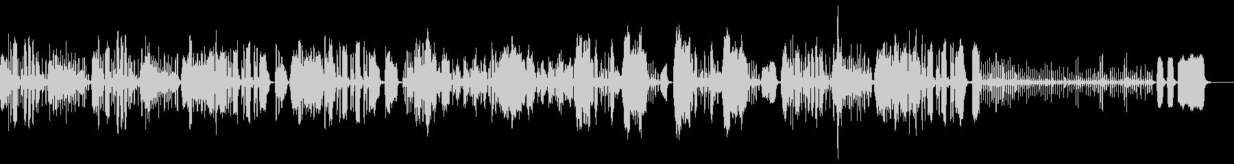 ほのぼのしたリコーダー曲の未再生の波形
