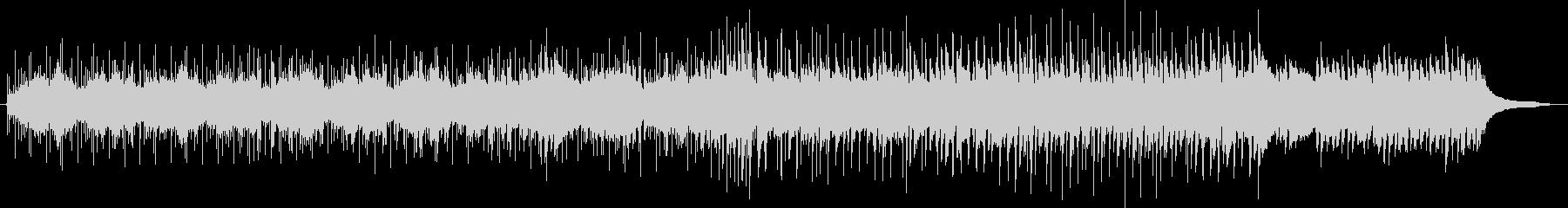 リズムカルコンガミュージックの未再生の波形