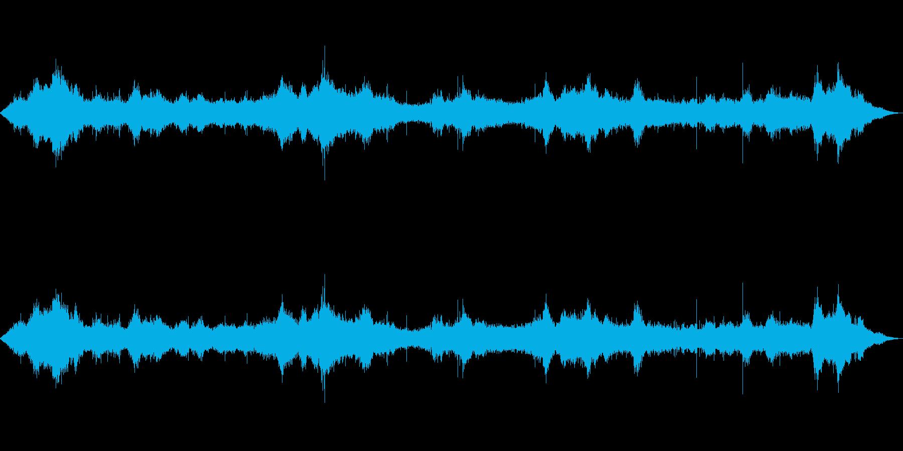 【自然音】波の音02(八丈島)の再生済みの波形
