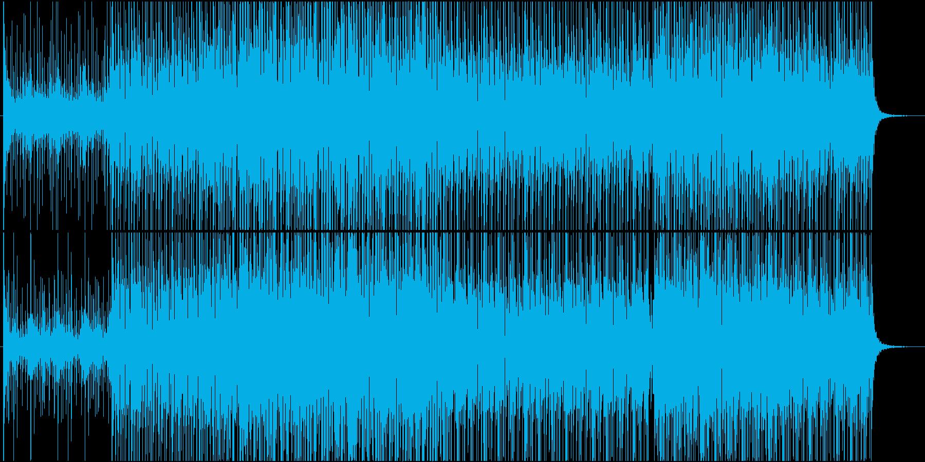 パーカッショングルーヴと神秘的なシ...の再生済みの波形