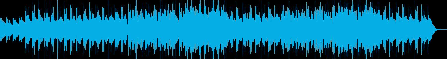 おしゃれな雰囲気のネオジャズ風ポップの再生済みの波形