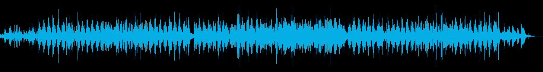 ほのぼの系のフュージョンの再生済みの波形