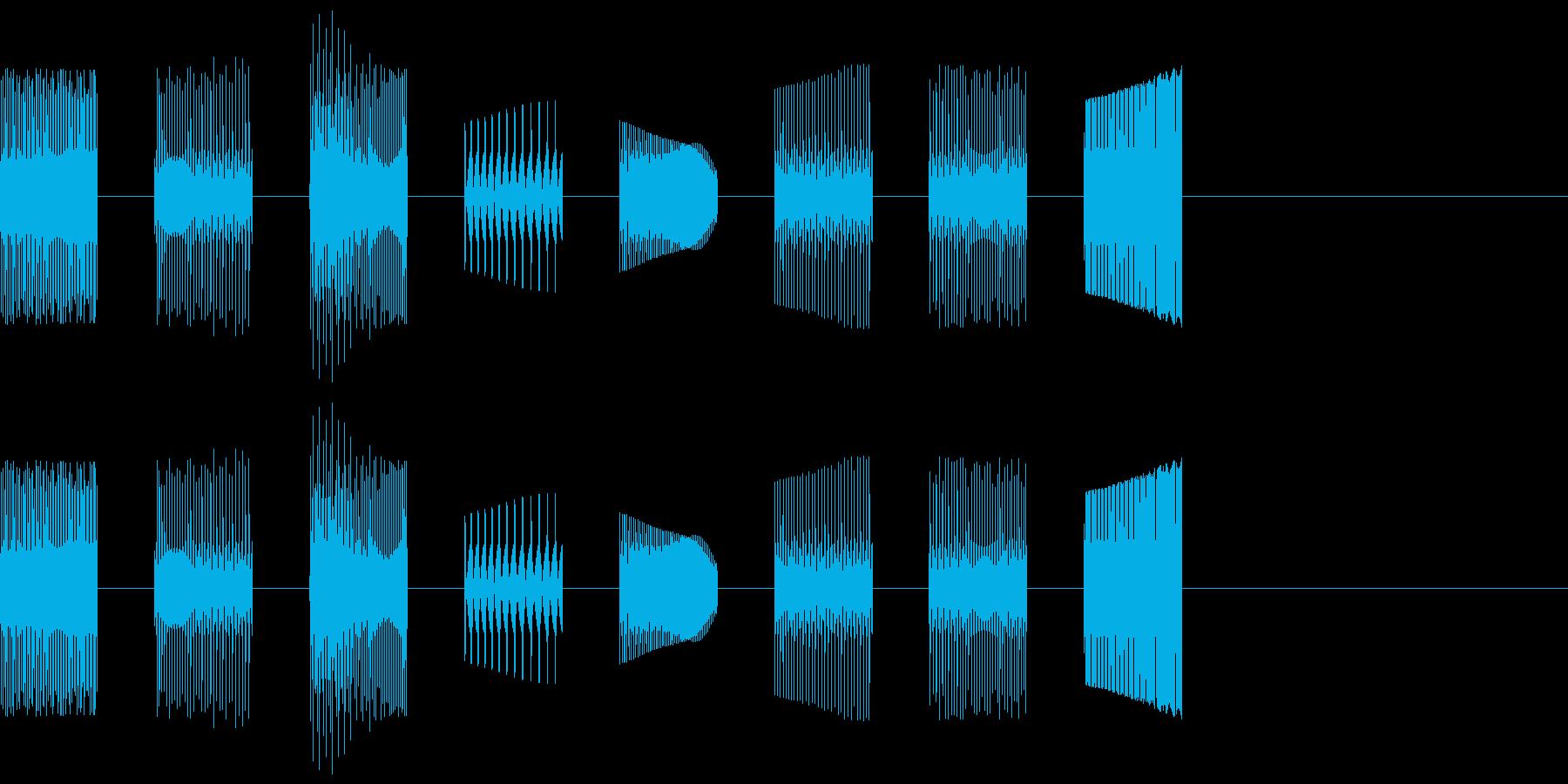 KANTピコ自主規制音3shortの再生済みの波形